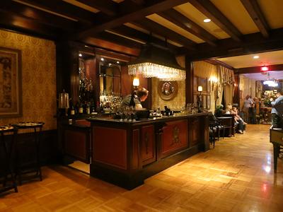 The gorgeous bar