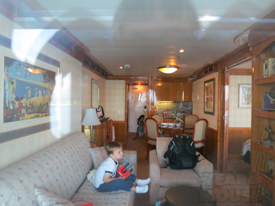 The living room/kids' room